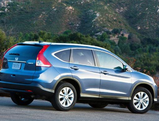 Фото новой Хонда ЦР-В 2012 года - задние фонари