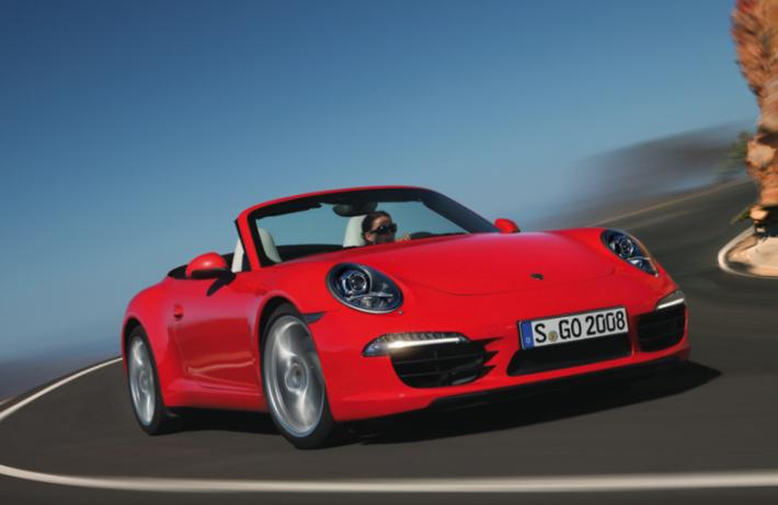 Кабриолет Porsche 911 Carrera