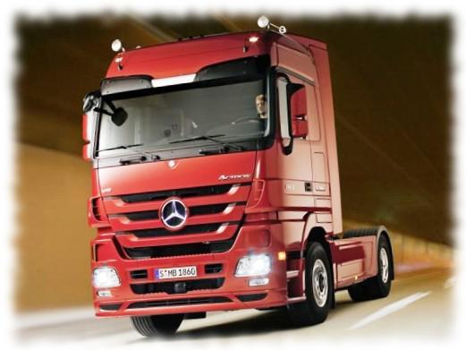 Мерседес Актрос - лучший грузовик 2012 года