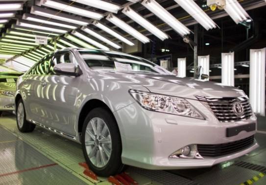 Новая Toyota Camry 2012 российского производства