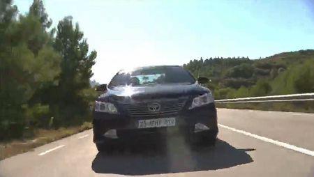 Новая Toyota Camry 2012 видео