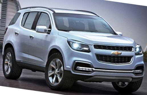 Новый Chevrolet TrailBlazer 2012