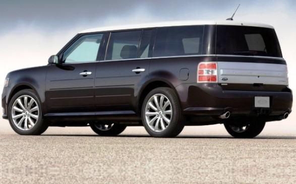 Новый Ford Flex 2012 года
