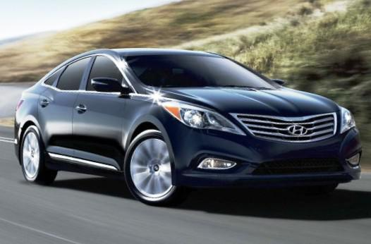 Новый Hyundai Azera фото