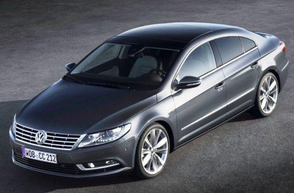 Новый Volkswagen Passat CC 2012 года