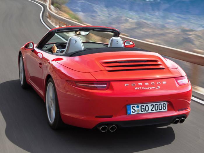 Новый кабриолет Порше 911 Carrera - фото