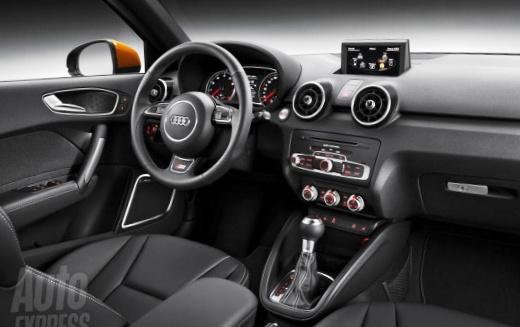 Передняя консоль - пятидверный Audi A1 Sportback