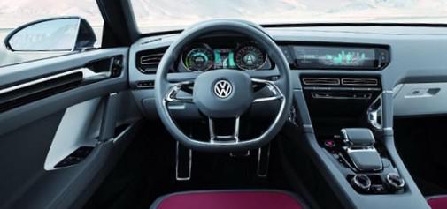 Салон VW Cross Coupe