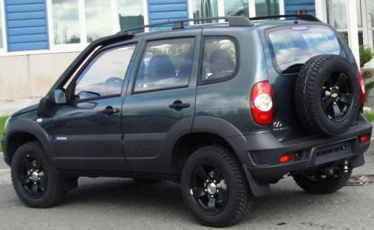 Специальная версия Chevrolet Niva