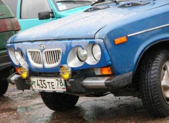 Тюнинг передней решетки радиатора Lada 1600