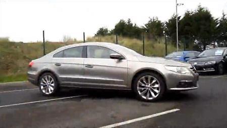 Видео о новом Volkswagen Passat CC 2012 года