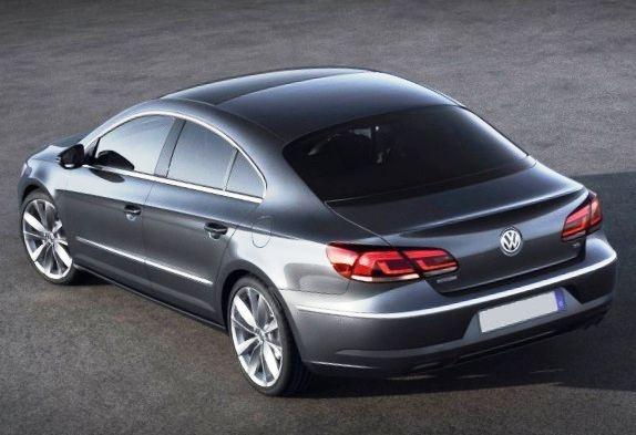 Задние фонари нового Volkswagen Passat CC 2012 года (фото)
