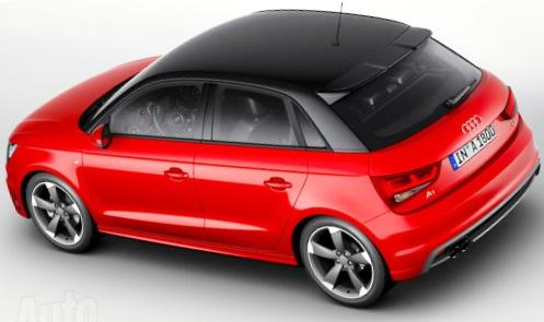 Задние фонари - пятидверный Audi A1 Sportback