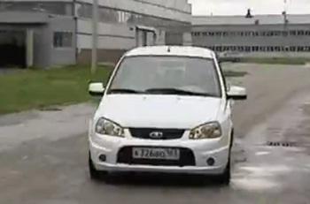Ходовые испытания электромобиля ElLada