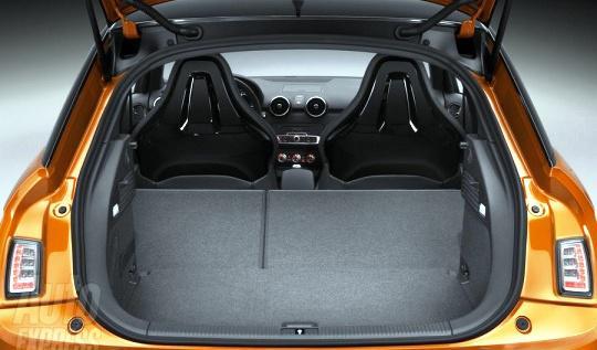 пятидверный Audi A1 Sportback - Багажник