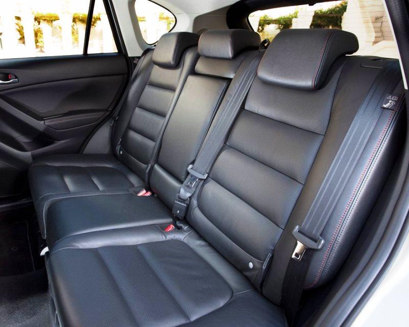 задние сидения Mazda CX-5 2013