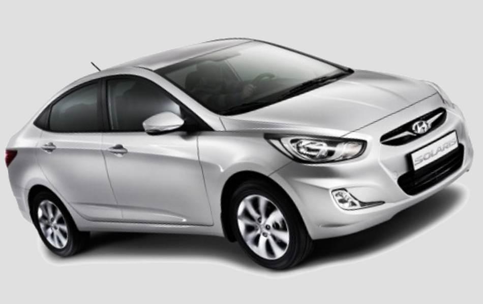 Новый Hyundai Solaris 2012 года