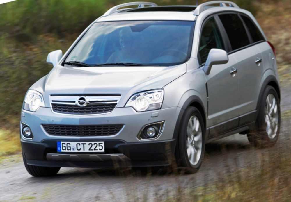 Фото Opel Antara 2012 года
