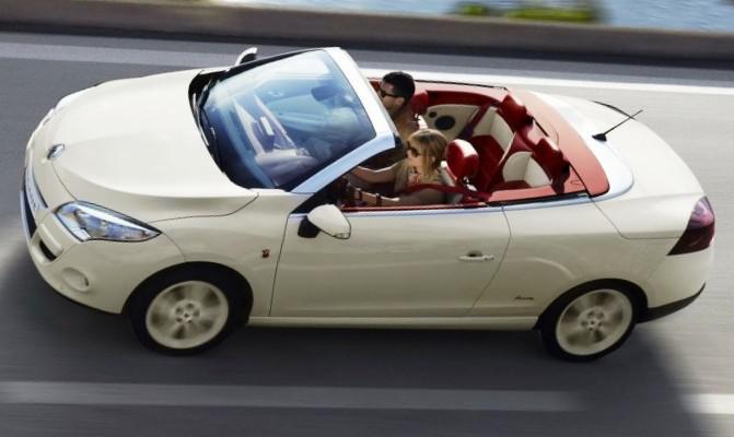 Новый купе-кабриолет Renault Megane CC Floride