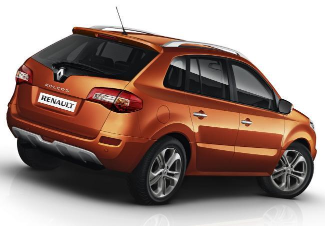 Задние фонари Renault Koleos 2012
