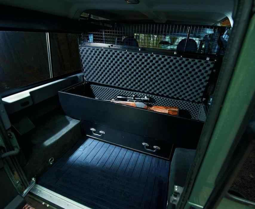 Багажник Land Rover Defender для охотников