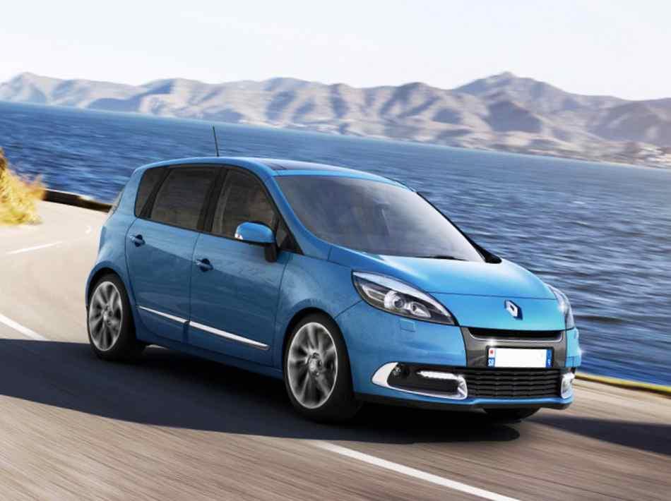Фото Renault Scenic 2012