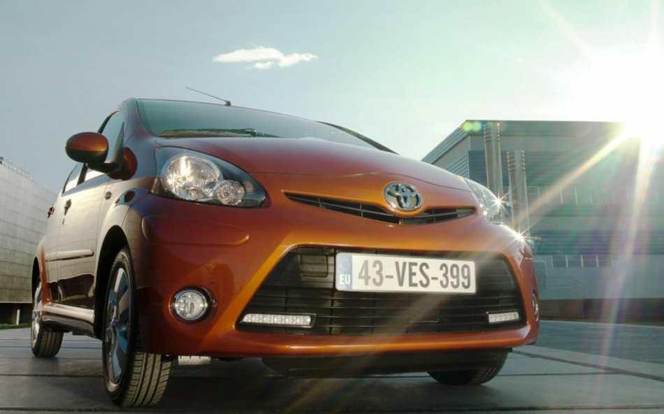 Фото нового Toyota Aygo
