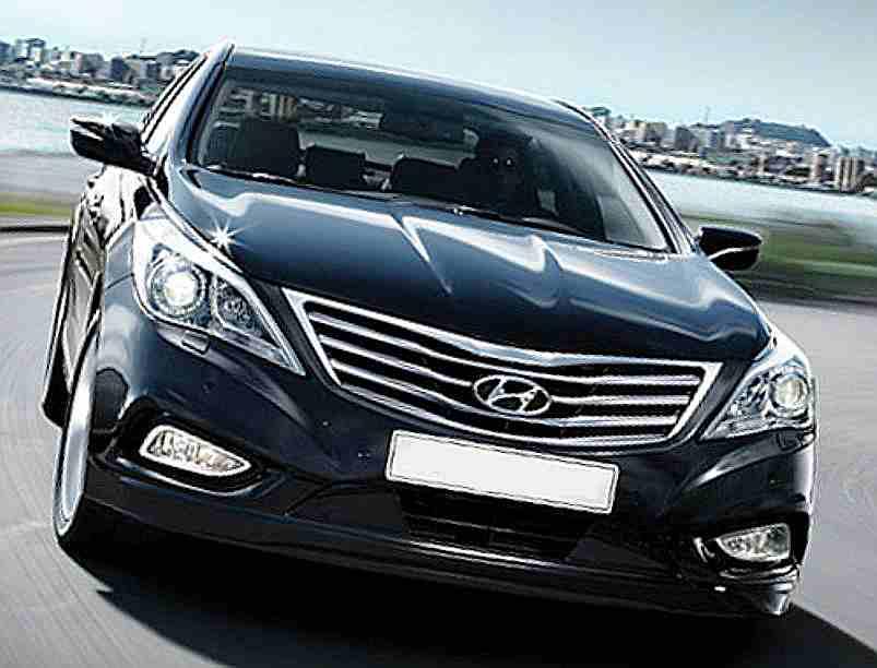 Фото Hyundai Grandeur 2012