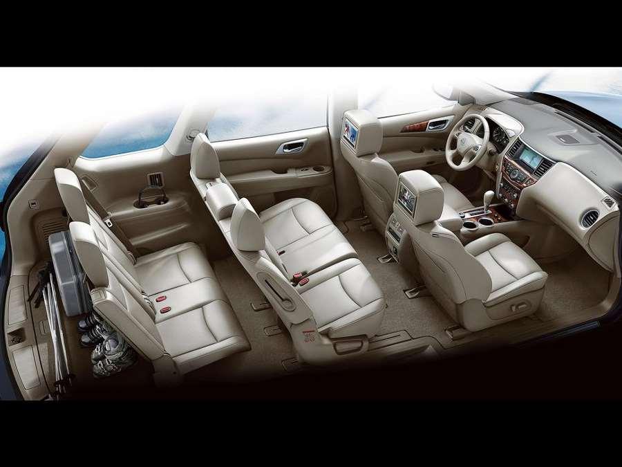 Интерьер Nissan Pathfinder 4