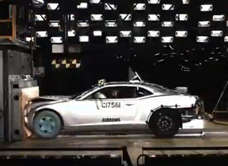 Краш-тест Chevrolet Camaro 2011