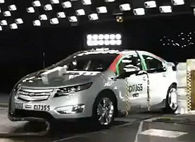 Краш-тест Chevrolet Volt 2012