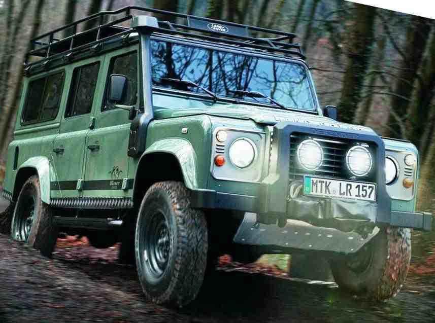 Land Rover Defender для охотников