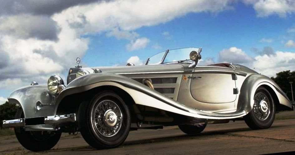 Mercedes-Benz 540K Spezial Roadster 1937 года