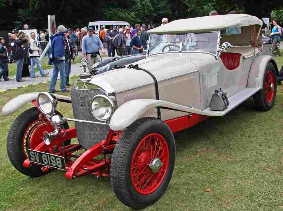 Mercedes-Benz Typ S 26 180 1927 - фото