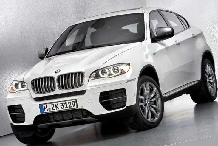 Новый BMW X6 M50d - фото