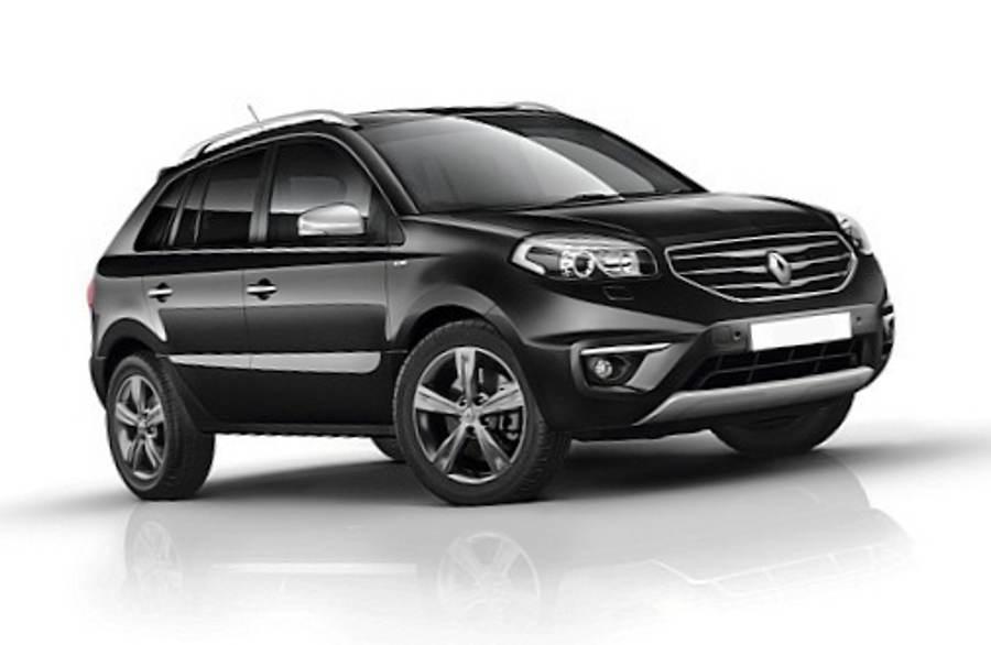 Новый Renault Koleos Bose Edition 2012