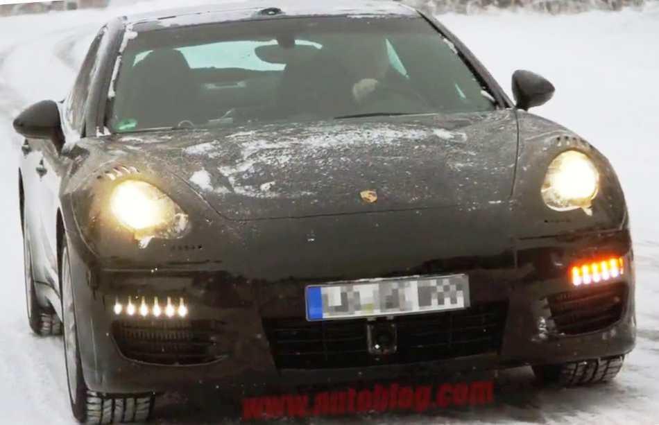 Porsche Panamera 2013 - фото