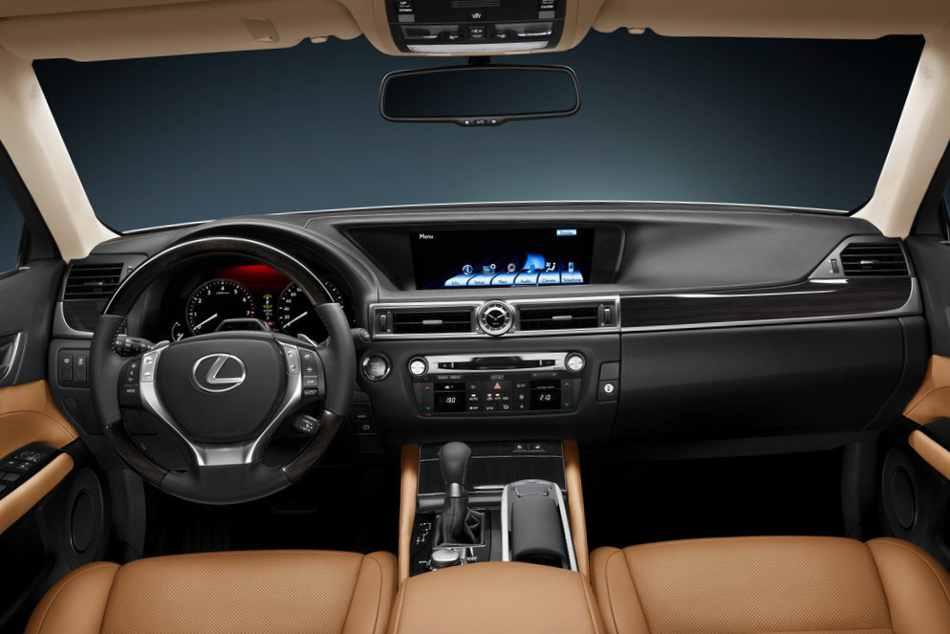 Салон Lexus GS 350