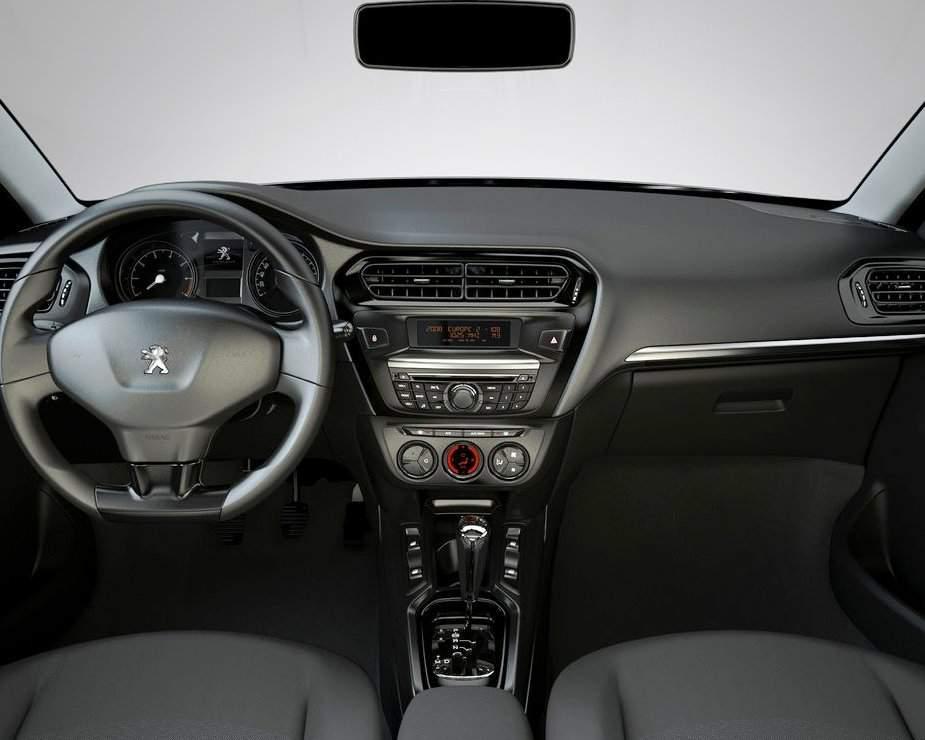 Салон Peugeot 301 2013 года