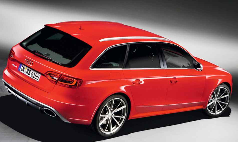 Универсал Audi RS 4 Avant 2012 - фото