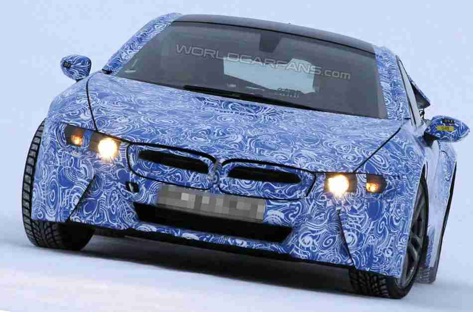 Фото BMW i8 2014