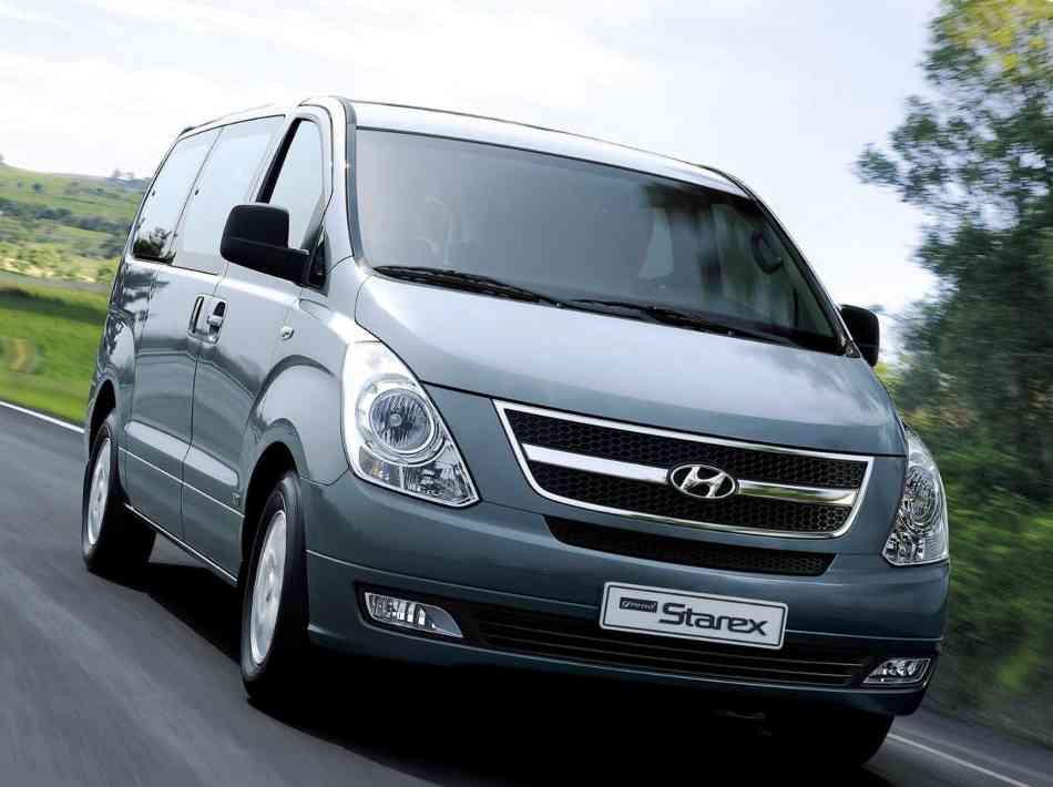 Фото обновленного Hyundai H-1 (Grand Starex) 2012 модельного года