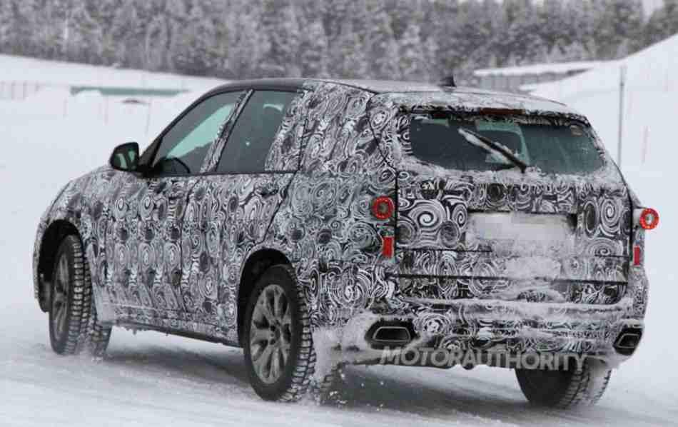 Фото нового BMW X5 2014