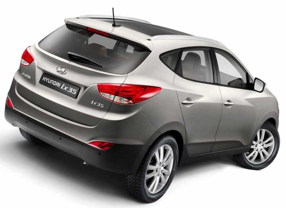 Hyundai ix35 2012 - задние фонари