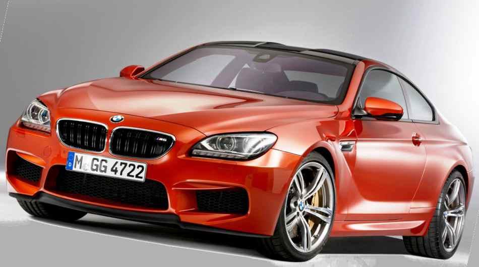 Новый BMW M6 2012 в кузове купе