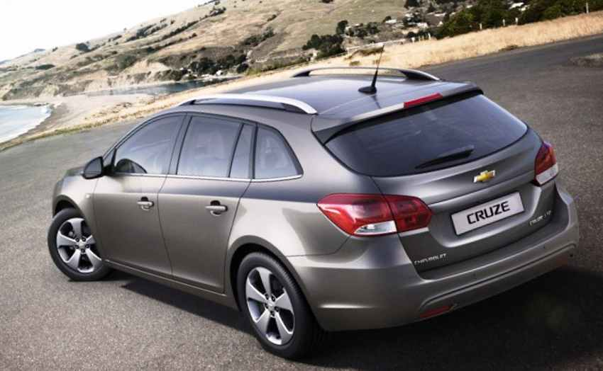 Новый Chevrolet Cruze 2012 универсал