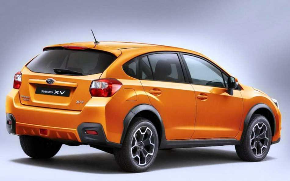 Новый Subaru XV 2012