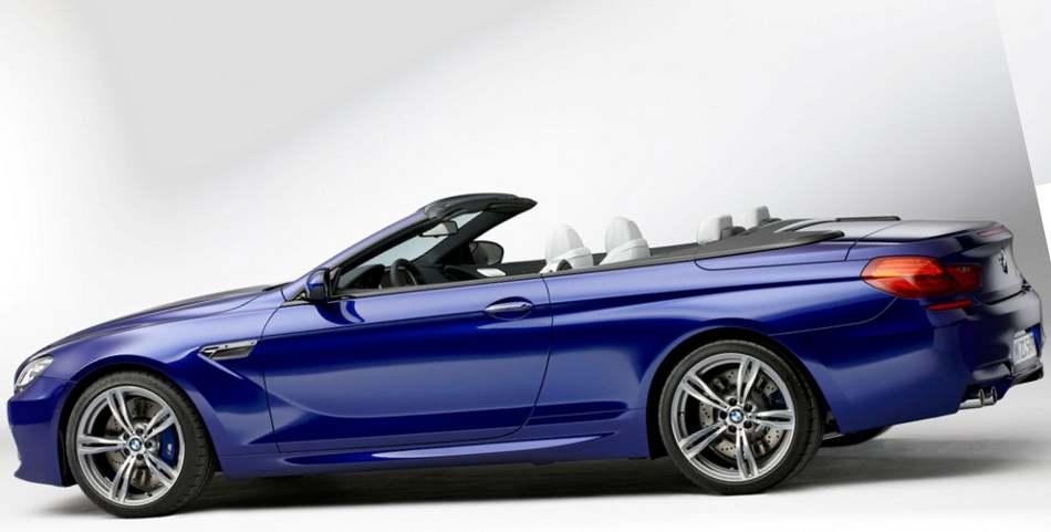 Новый кабриолет BMW M6 2012 года