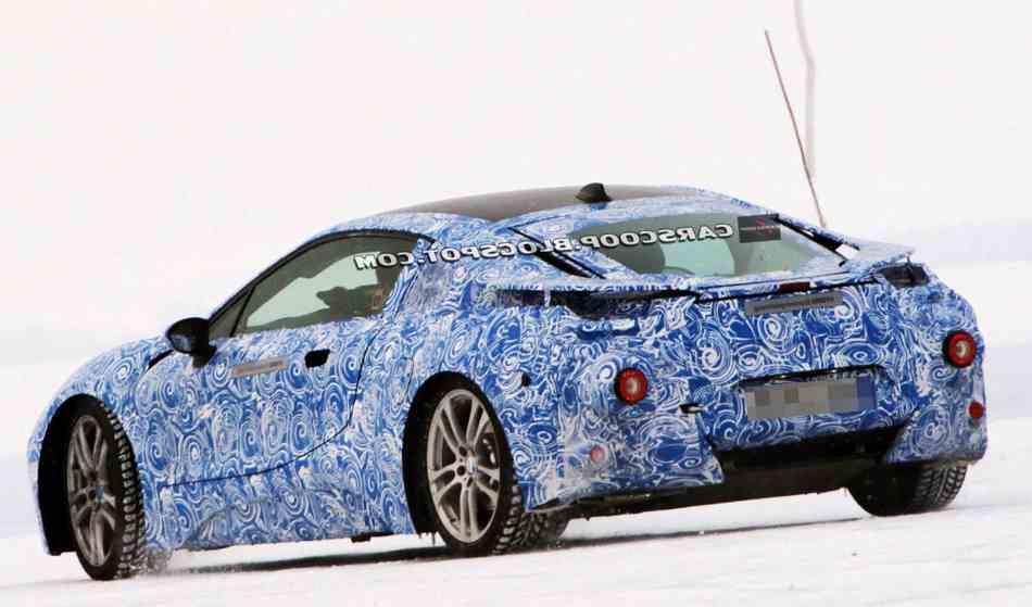 Прототип BMW i8 - фото