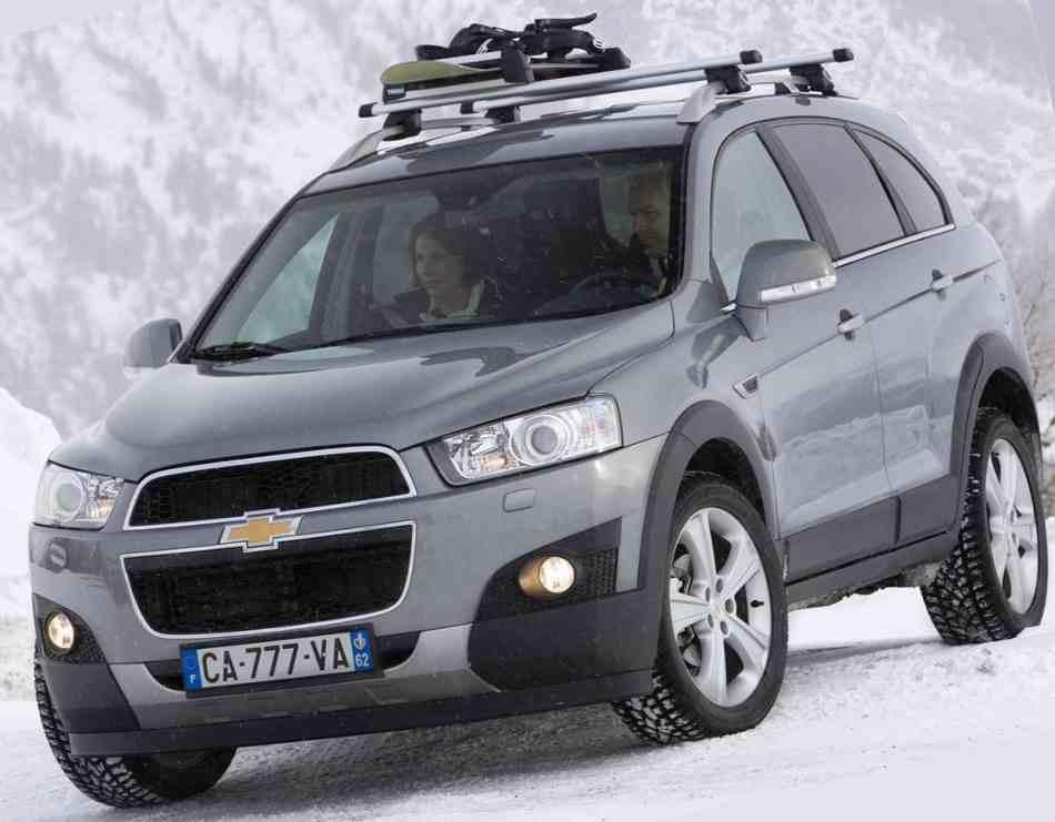 Chevrolet Captiva  2012 в России